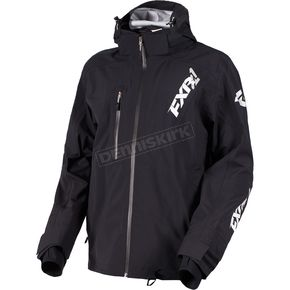 FXR Racing Black Mission Lite Tri-Lam Jacket - 180014-1000-22