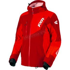 FXR Racing Maroon/Red Mission Lite Tri-Lam Jacket - 180014-2520-10