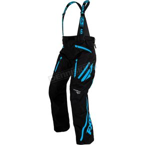 FXR Racing Black/Blue Mission X Pants - 170112-1040-07