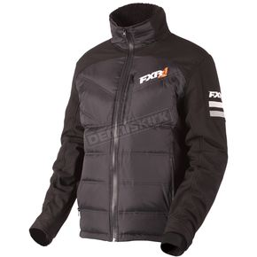 FXR Racing Black Paddock Down Jacket - 180903-1000-10
