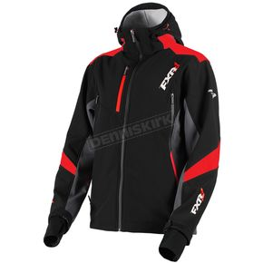FXR Racing Black/Red Renegade Tri-Laminate Softshell Jacket - 180907-1020-19
