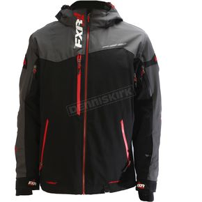 FXR Racing Black/Charcoal/Red Renegade X Jacket - 180018-1020-19