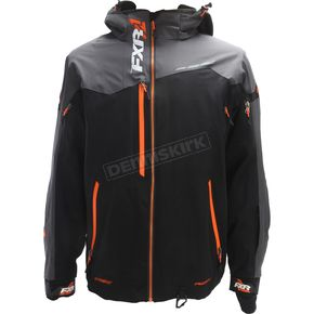 FXR Racing Black/Charcoal/Orange Renegade X Jacket - 180018-1030-10
