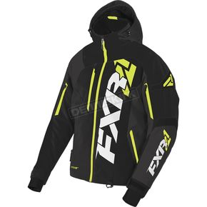 FXR Racing Black/Hi-Vis Revo X Jacket - 170025-1065-22