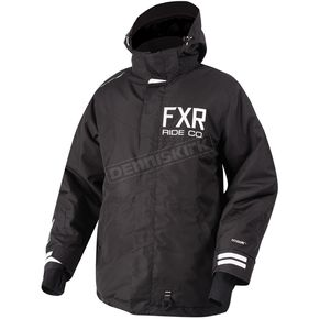 FXR Racing Black Squadron Jacket - 180023-1000-19