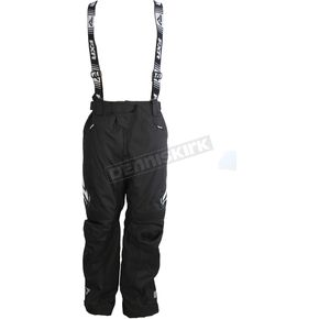 FXR Racing Black/White X System Pants - 180110-1001-16