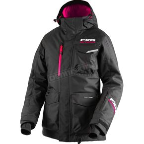 FXR Racing Women's Black Excursion Jacket - 180214-1000-10