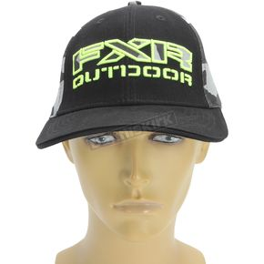 FXR Racing Gray Urban Camo/Hi-Vis Infantry Hat - 171625-0665-15