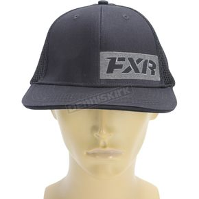 FXR Racing Charcoal/Black Revo Hat - 171900-0810-08