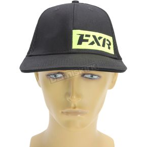 FXR Racing Black/Hi-Vis Revo Hat - 171900-1065-08