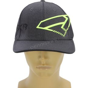 FXR Racing Charcoal/Hi-Vis Split Hat - 171626-0865-08