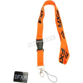 Orange/Black Lanyard - 181690-3010-00