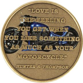 Love Is Challenge Coin - COIN/LOVE-IS