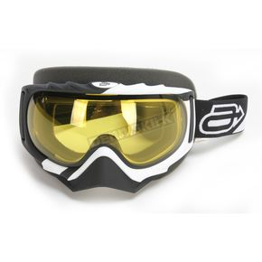 Arctiva White/Black Rev Comp 2 Goggles - 2601-2107