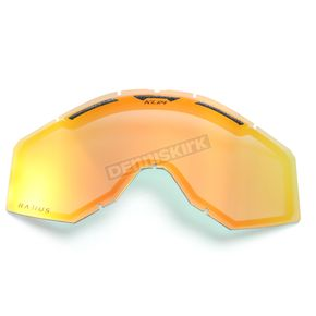 Klim Red Mirror Replacement Lens for Radius Goggles - 7000-902-000-611