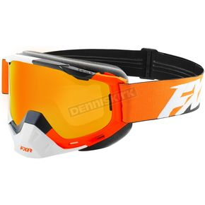 FXR Racing Orange/Navy/White Boost Speed Goggles - 183101-3045-00
