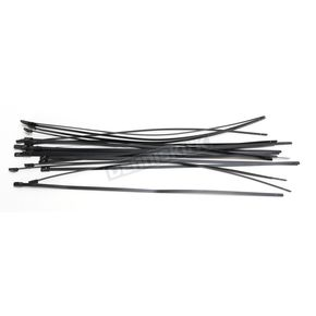 Black 14 in. Steel Tie Wraps - CPP/9073-20
