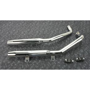 Chrome Performance Staggered Duals w/Tapered Tips  - 055-0421