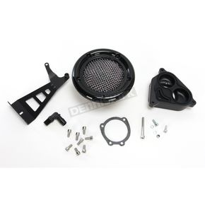 Kuryakyn Gloss Black Velociraptor Air Cleaner - 9599