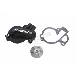 Black Supercooler Water Pump Cover and Impeller Kit - WPK-45AB