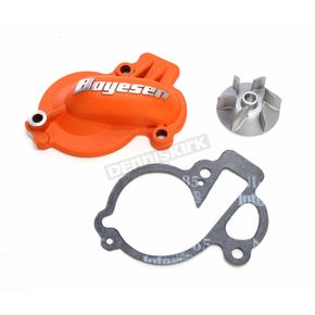 Boyesen Orange Supercooler Water Pump Cover and Impeller Kit - WPK-45AO