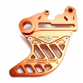 Powerstands Racing Orange Rear Disc Guard - 08-04101-28