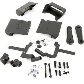 Satin Black Highway Peg Arms w/o Pegs - 6759