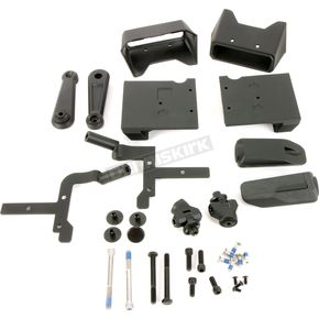Satin Black highway Peg Arms w/Pegs - 6751