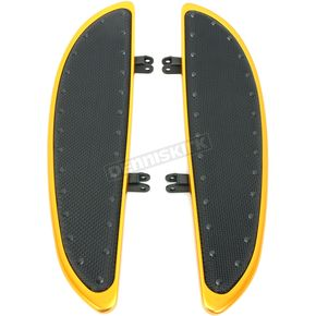 19 in. Black Banana Boards W/Black Rivets - 104-G