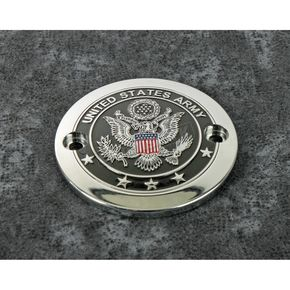 Chrome Army Seal Timing Cover - ARM02-63