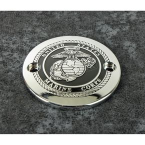 Chrome Marine Seal Timing Cover - MAR05-63