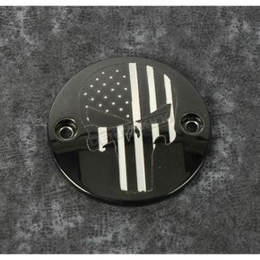 Black Stars and Stripes Punisher Timing Cover - PATR22-63BG