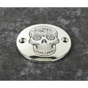 Chrome Sugar Skull Timing Cover - SSKUL-63