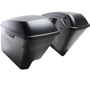 Unpainted No Cut Touring 4 in. Stretch Saddlebags - HW151221