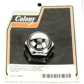 Chrome Stem Nut - 7802-1