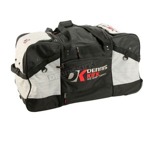 Gray/Black/Red Roller Gear Bag - DKGEARBAG