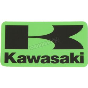Kawasaki 6 in. Squared Icon Decal - 40-20-109