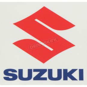Suzuki 12 in. Squared Icon Decal - 40-40-110