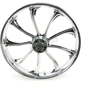 Front 21 in. x 3.5 in. One-Piece Illusion Forged Aluminum Wheel w/ABS - 213509031A14124