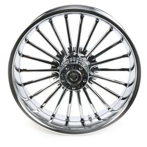 Rear 18 in.  x 5.5 in. One-Piece Illusion Forged Aluminum Wheel w/o ABS - 18550-9210-126C