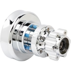 Chrome Rear Forged Billet Hub - 17-7507-C