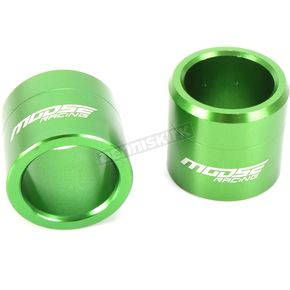 Green Fast Front Wheel Spacers - 0222-0554