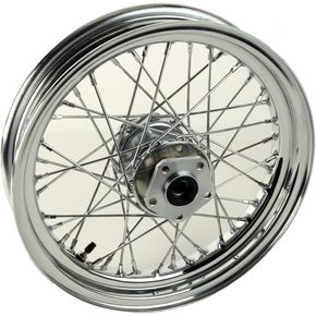 Chrome Tubeless 16x3.00 40 Spoke Rear Wheel - 51707