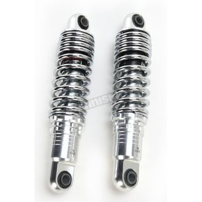 Drag Specialties 11 in. Chrome Ride-Height Adjustable Shocks - 1310-1191