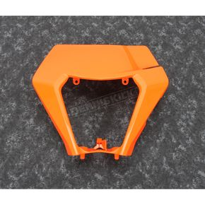 Orange Plastic Headlight Cover - KT05003127