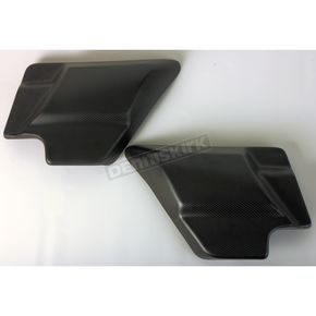 Matte Carbon Fiber Side Cover - SLY-004