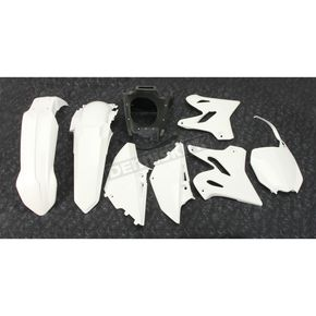 White Complete Plastic Restyle Kit - 90900