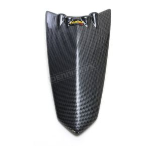 Maier ATV Racing Black Carbon Fiber Hood - 50959-30