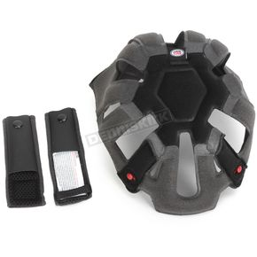 Bell Helmets Black Top Pad Set for Moto-9 Flex Helmets - 8031054