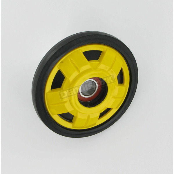 Parts Unlimited Yellow Idler Wheel w/Bearing - 4702-0078